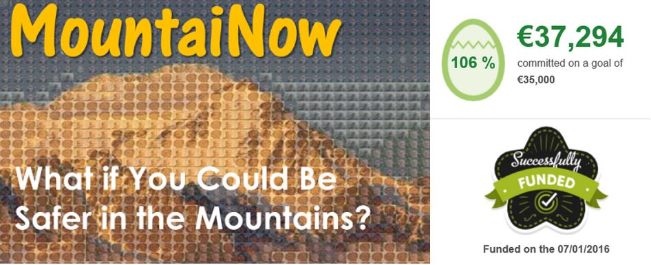 MountaiNow - Crowdfunding